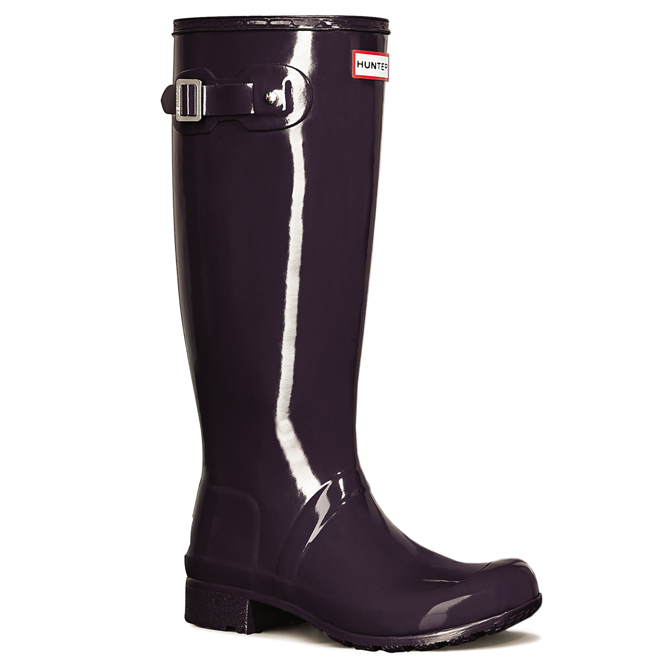 Damas Hunter Original Tour Tour Tour Brillo Knee High Festival Wellingtons botas Todas Las Tallas b8419d