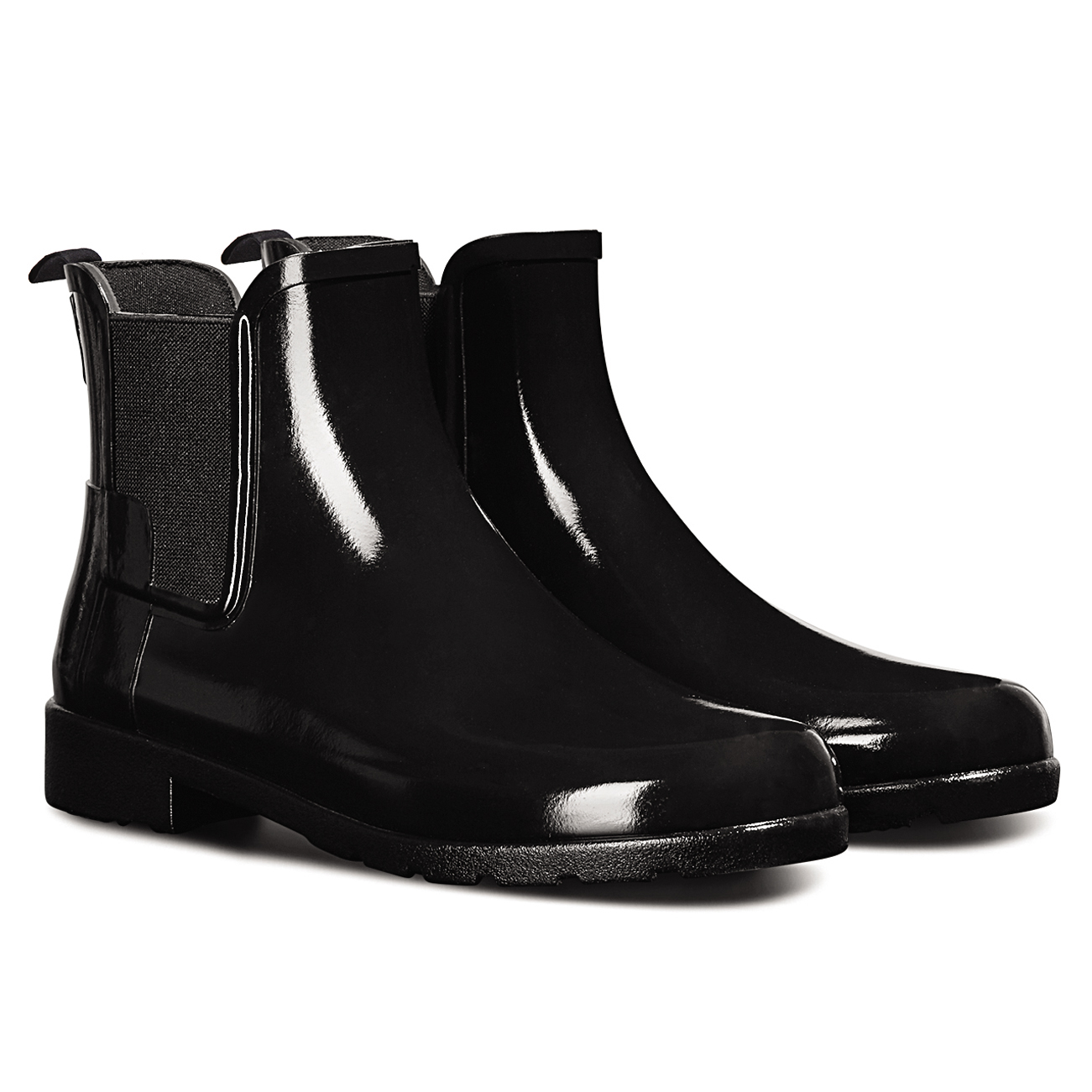 Hunter ORIGINAL CHELSEA GLOSS - Wellies - black amoICWcQH