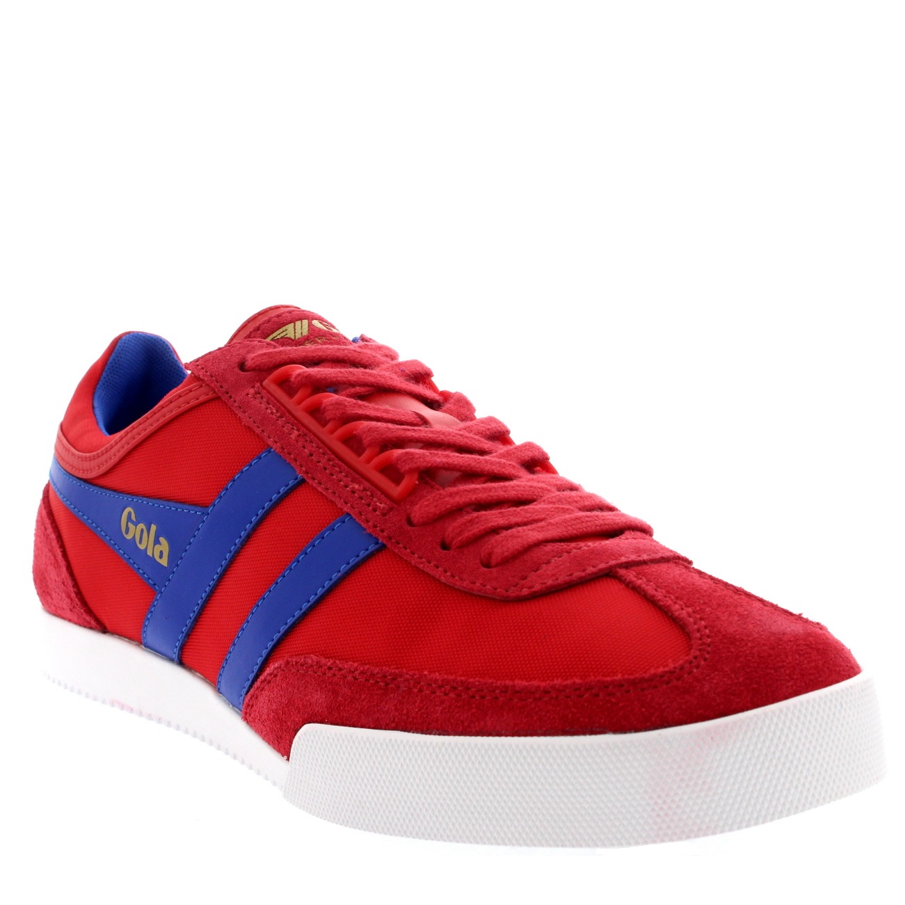 2030f8e9d7ae Ladies Gola Harrier Suede Lace Up Sporty Active Casual Retro ...