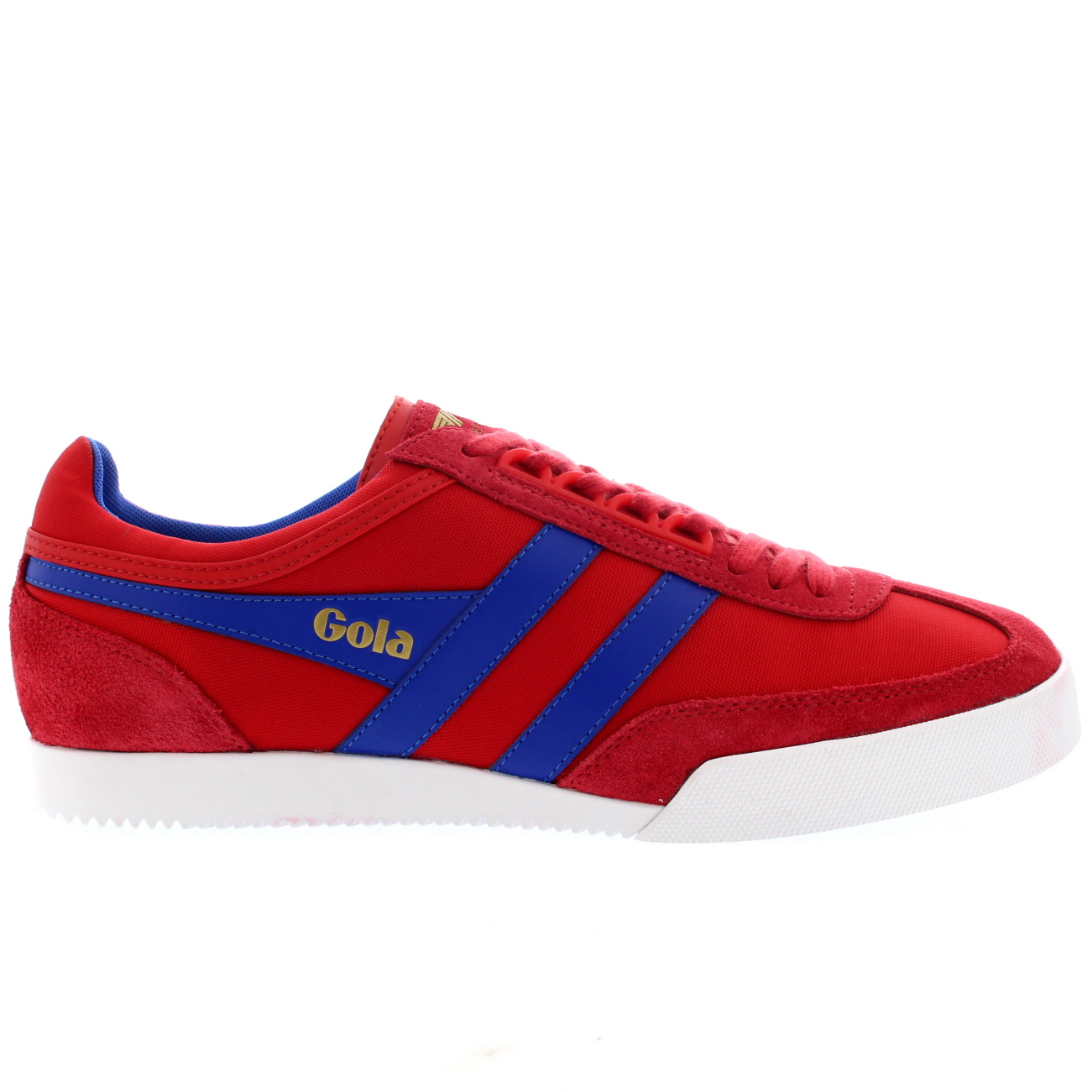 f99ea4cd9cb1 Ladies Gola Harrier Suede Lace Up Sporty Active Casual Retro Sneakers All  Sizes
