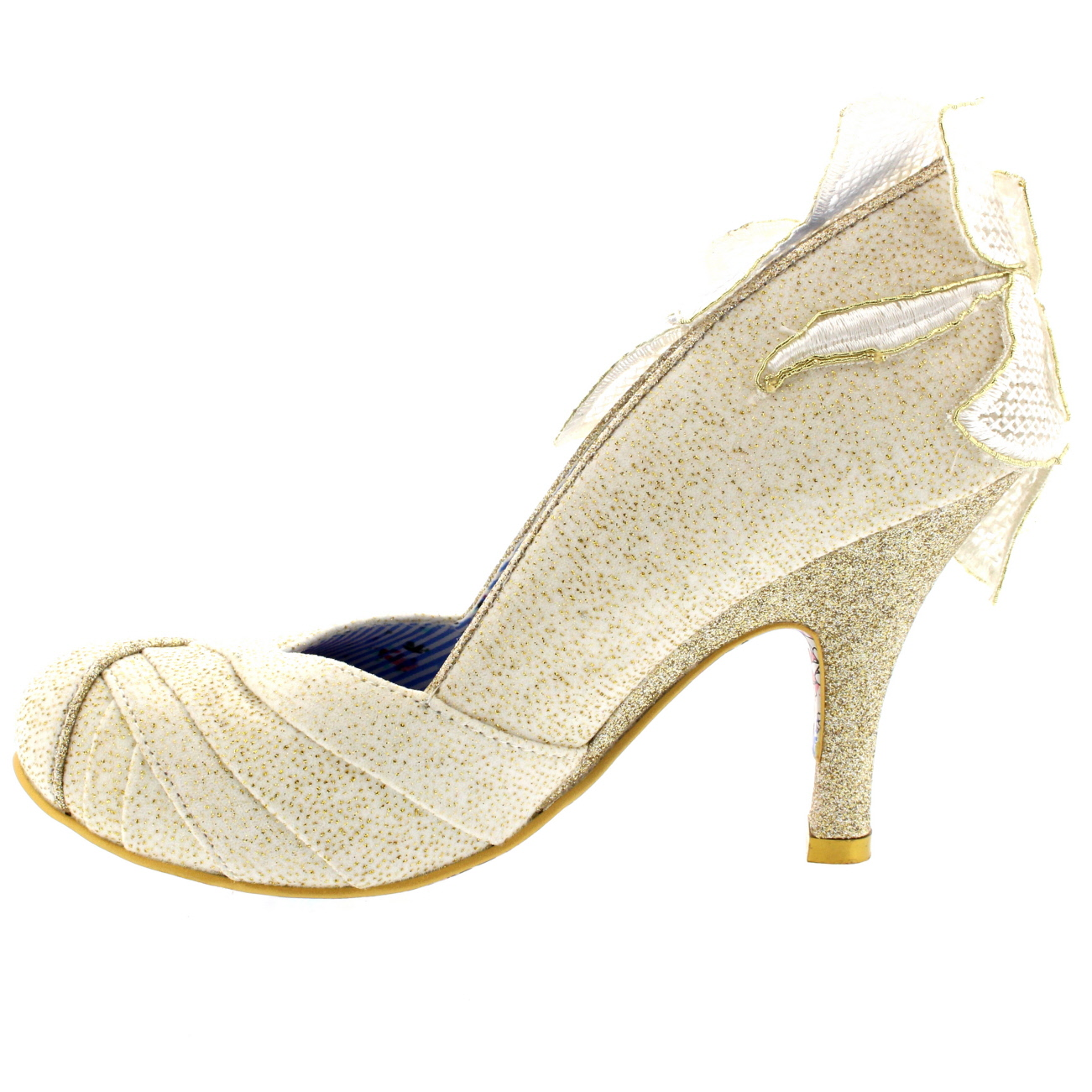Irregular Choice Wedding Shoes Flat