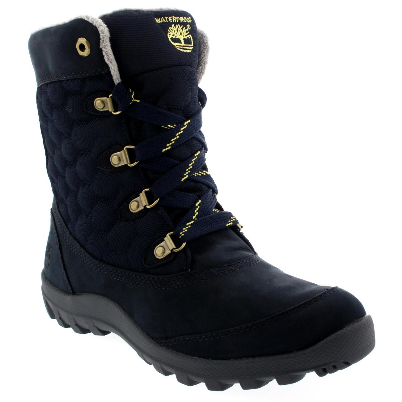 Ladies Timberland Earthkeeper Mount Hope Shoes Snow Rain