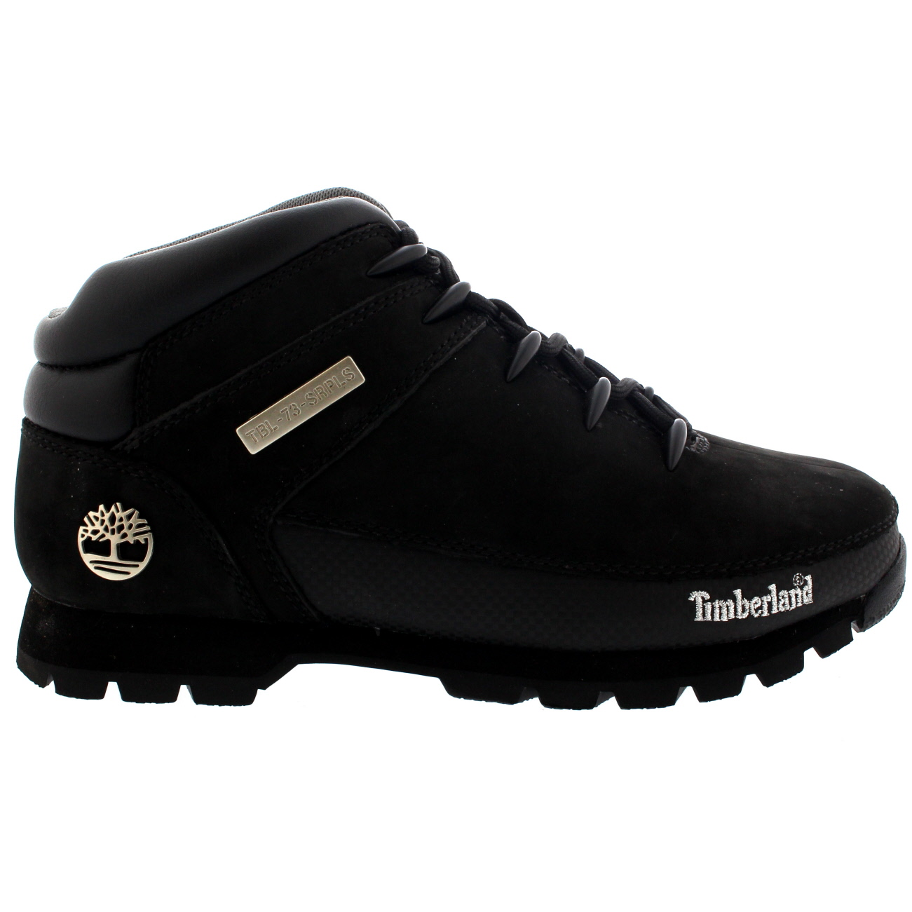 Discounted Timberland Euro Sprint Tree Boot Black Smooth