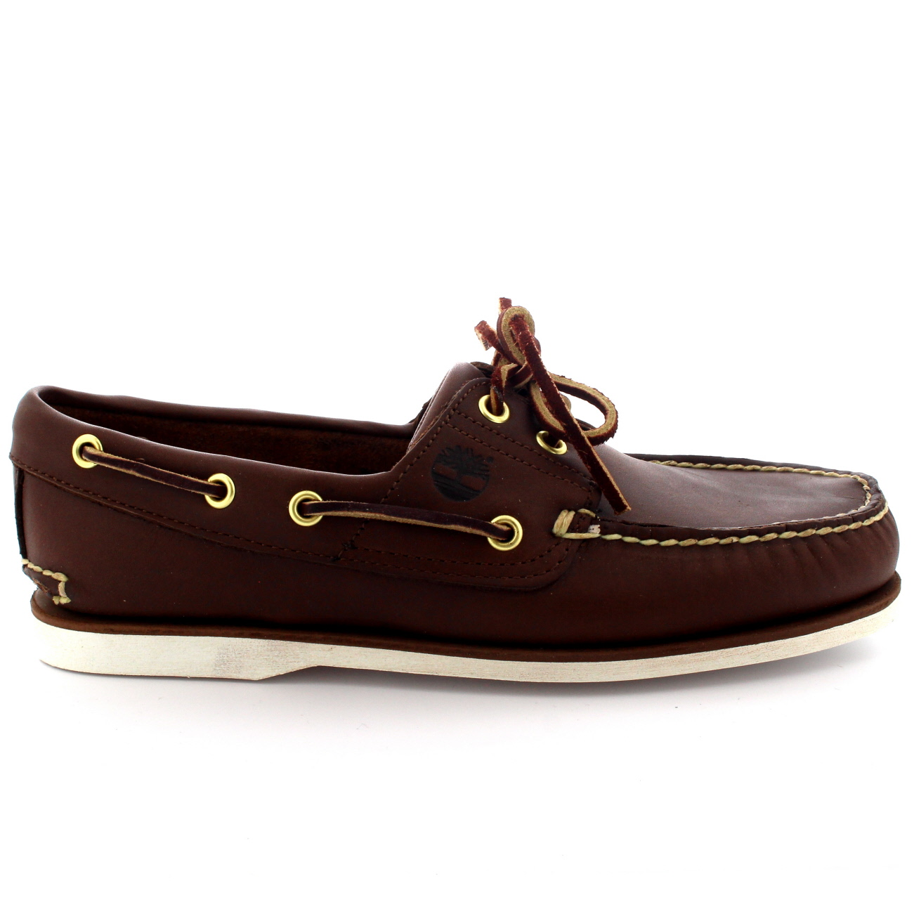 61bbdaee6e9 Mens Timberland Classic 2 Eye Boat Loafers Moccasin Lace Up Deck Shoes All  Sizes