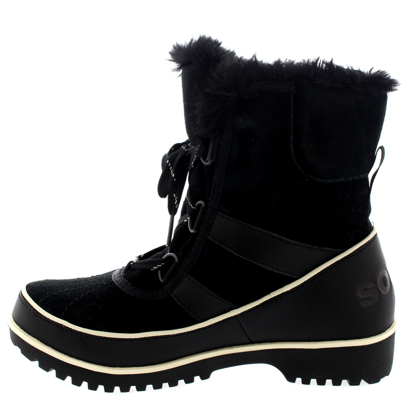 Ladies Sorel Tivolli Ii Winter Snow Lace Up Rain Warm Fur Lined Boots All Sizes