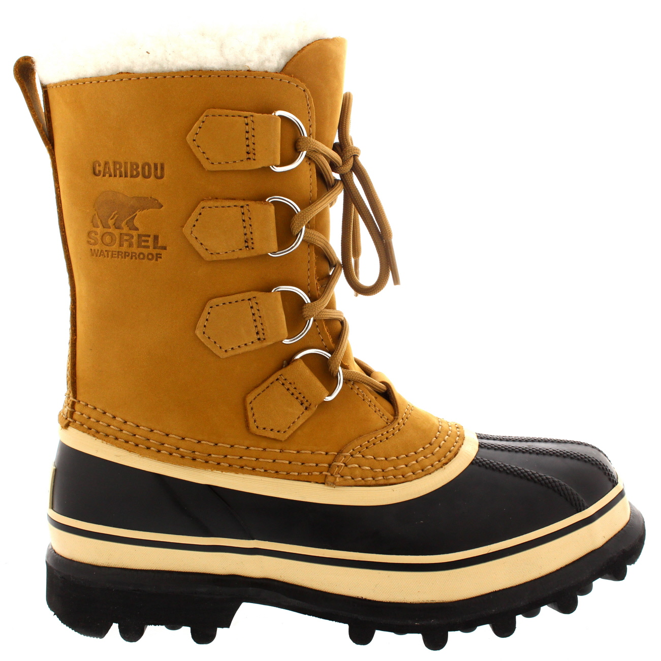 Señoras Sorel Caribou nieve invierno cálida lluvia de Piel de Ante Botas Mitad de Pantorrilla Todas Las Tallas