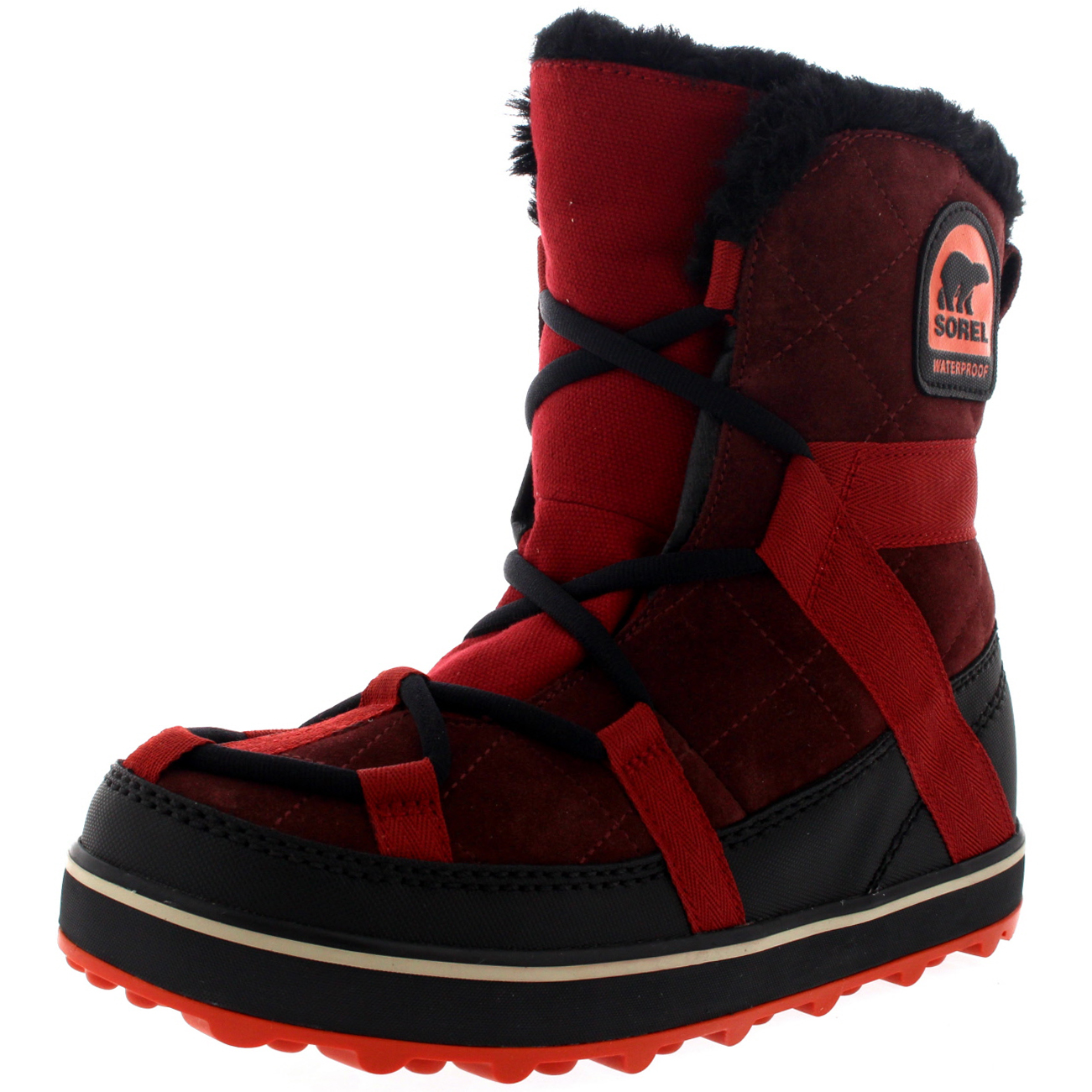 Zapatos especiales con descuento Ladies Sorel Glacy Explorer Shortie Rain Winer Snow Suede Warm Boots All Sizes