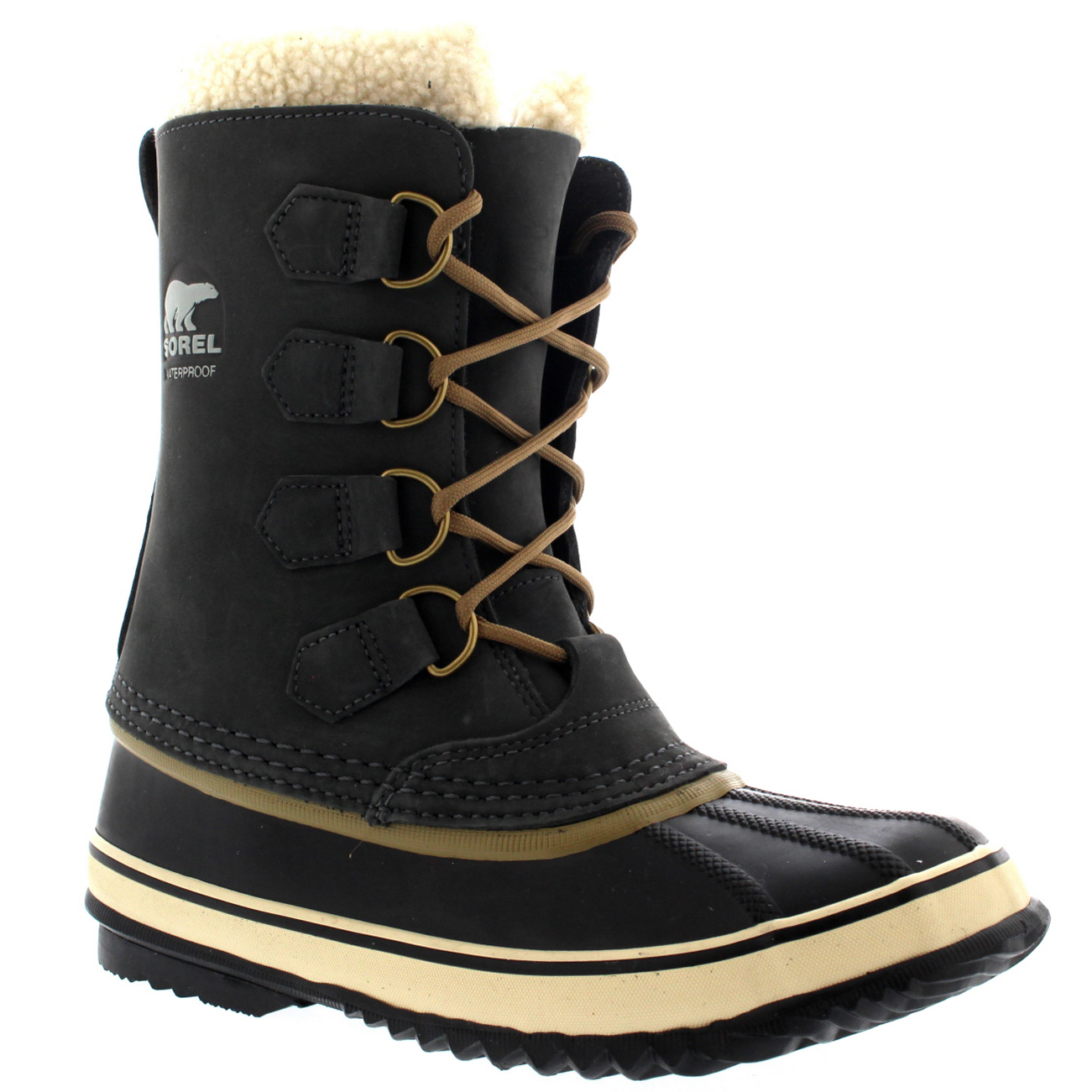 Ladies Sorel 1964 Pac 2 Winter Insulated Duck Rubber Mid