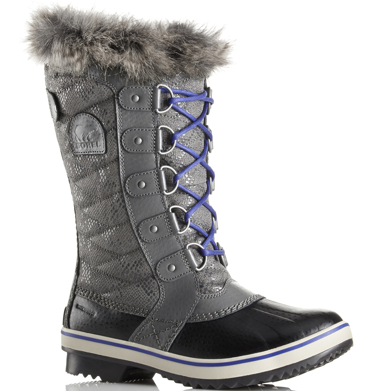 Ladies Sorel Tofino II Fur Winter Rain Snow Fur II Lined Lace Up Winter botas All Talla f40062