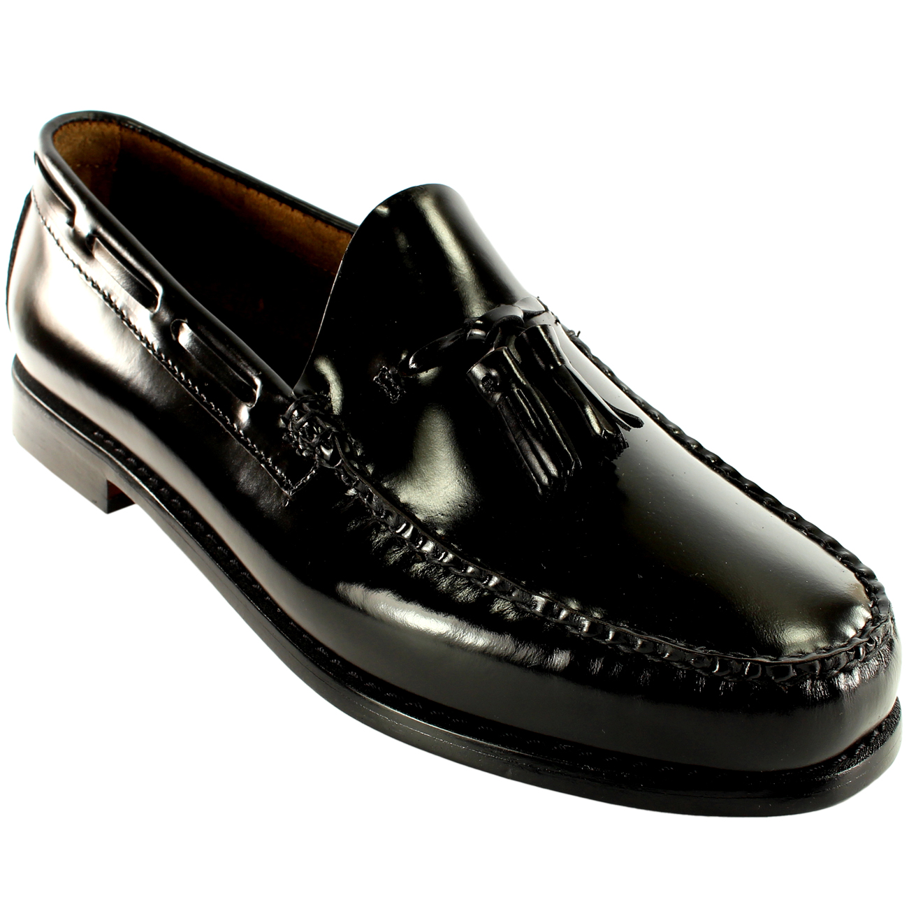 mens gh bass larkin slip on tassel smart penny loafer