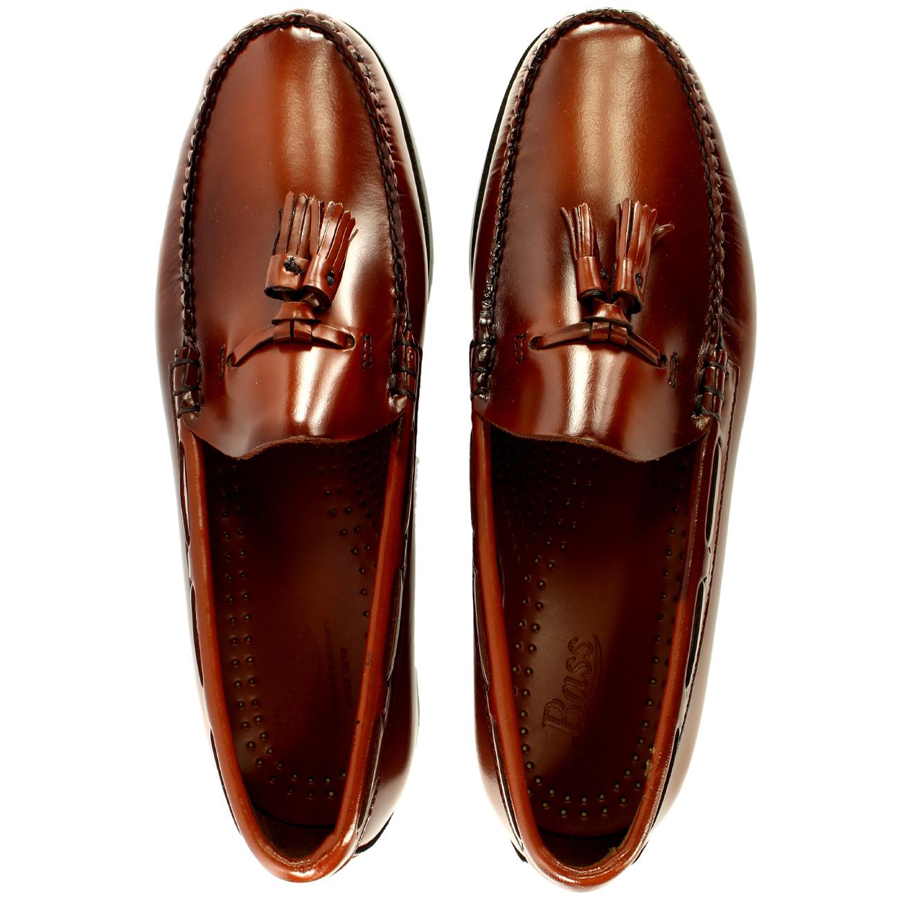 Uomo G.H. Bass Larkin Slip On Tassel Smart All Penny Loafer Leder Schuhes All Smart Größes 8210fb