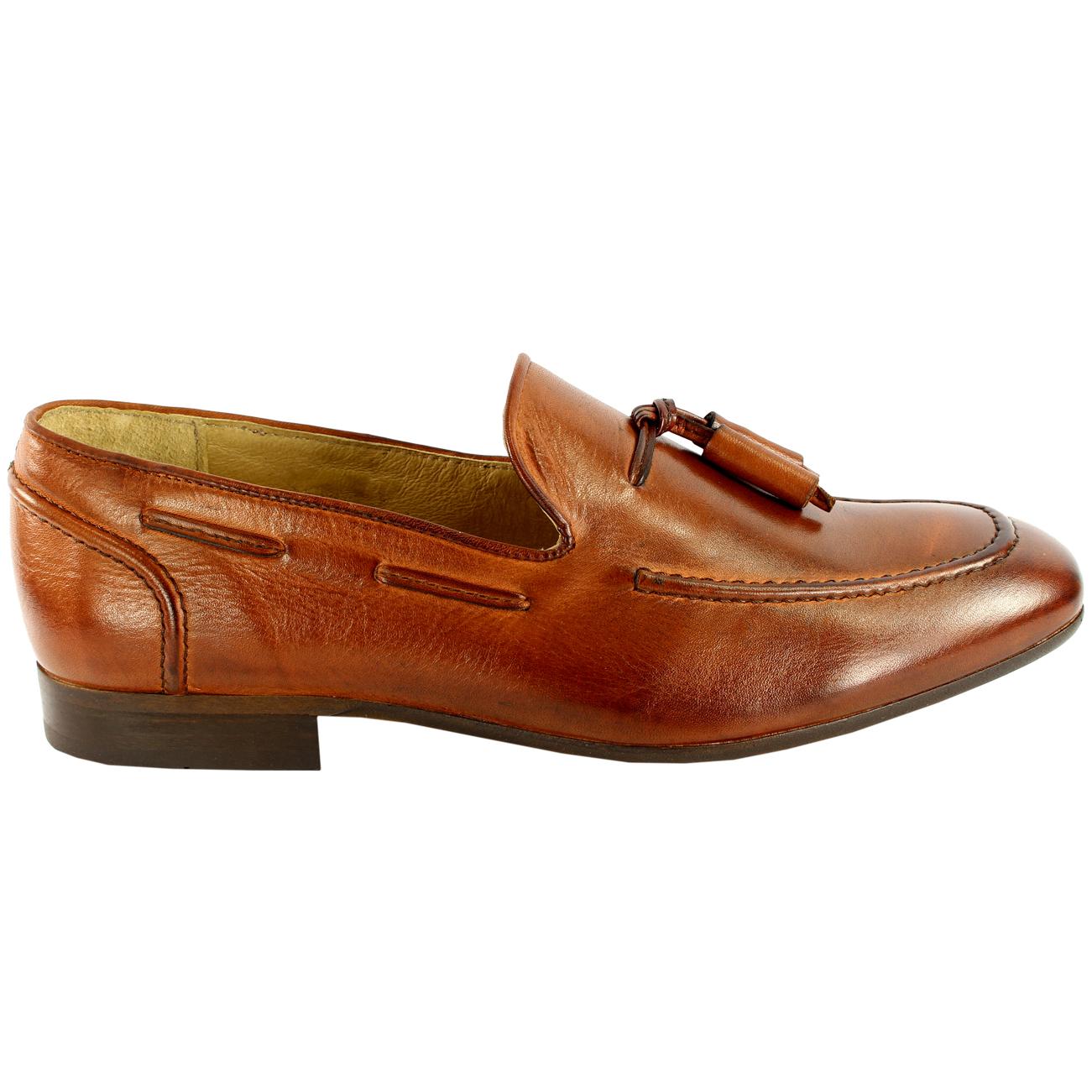 Mens H By Husdon Pierre Flats Flats Flats Tassle Loafer Smart schuhe Slip On New All Größes 809e75