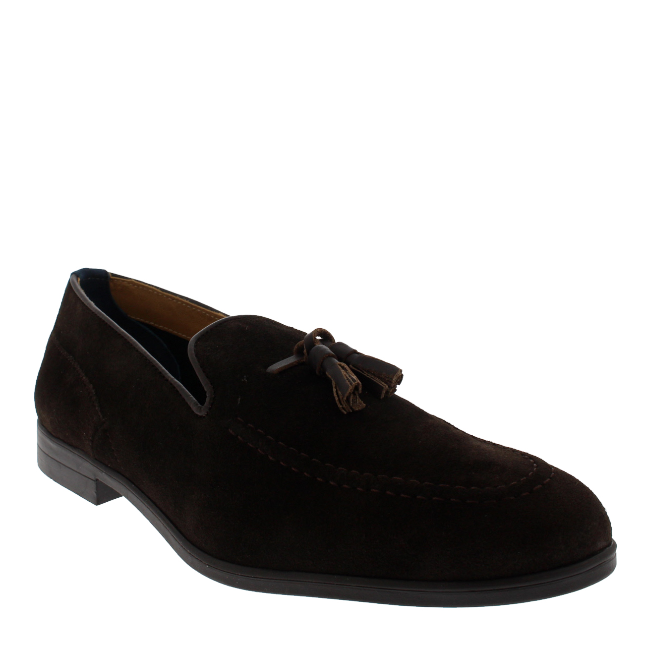 Mens H By Hudson Dickson Suede Formal Tassel Moccasin Formal Shoes All Sizes