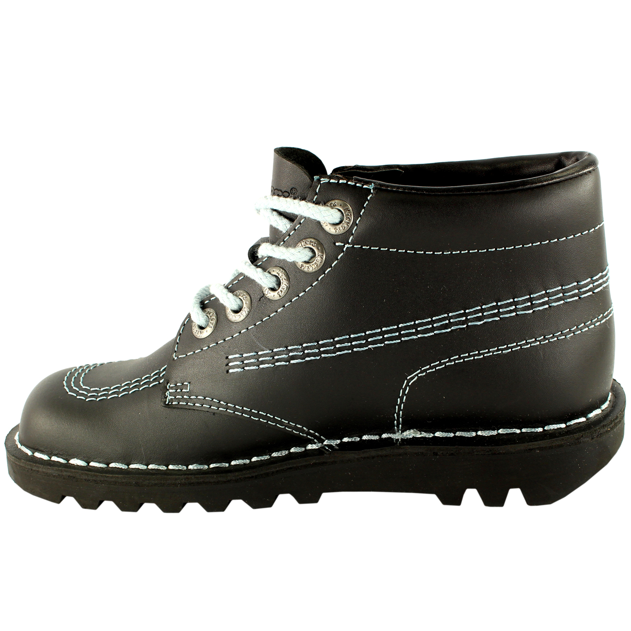 Ladies Kickers Kick Hi Core Classic Leather Office Work ...