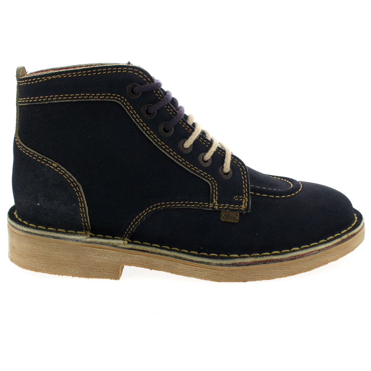 Mens Kickers Legendry Suede Laced Footwear Work Sizes Office Smart Shoes All Sizes Work ef489e