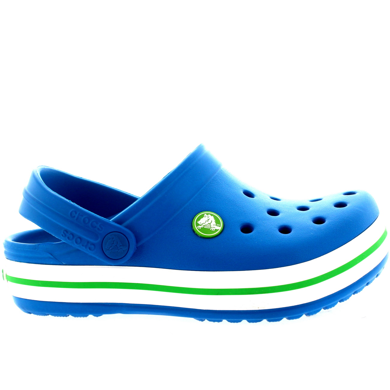 2a557e8b347d Unisex Kids Crocs Crocband Casual Mules Shoes Holiday Clogs Sandals All  Sizes