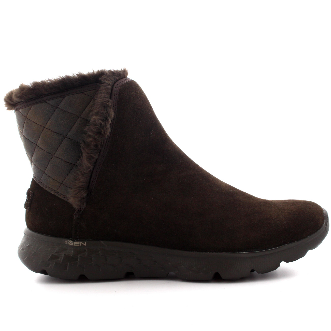 d5a52c7257 Ladies Skechers On The Go 400 Cozies Casual Warm Faux Fur Lined ...