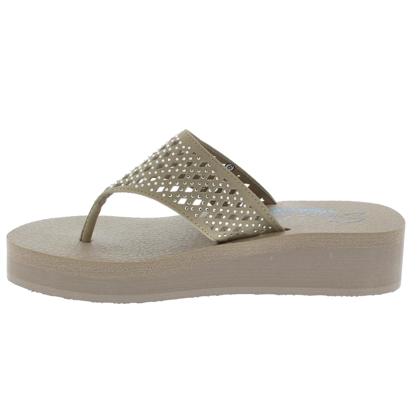 Skechers Diamante Flip Flops