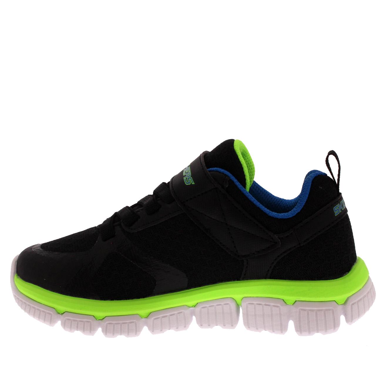Details about Kids Boys Skechers Skech Flex 2.0 Swift Walking Memory Foam Trainers All Sizes