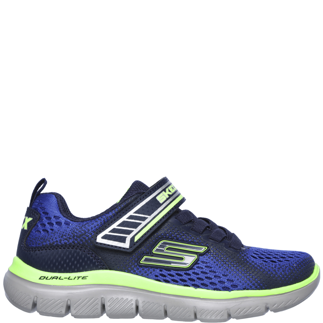 3312dd3e8fd3 Kids Boys Skechers Flex Advantage 2.0 Geo Blast Sports School Trainers All  Sizes