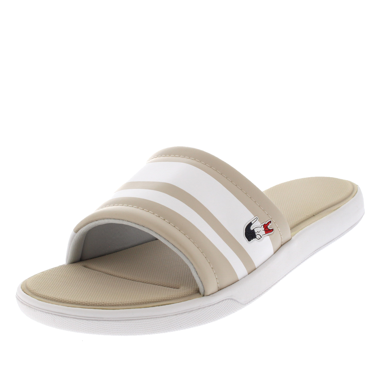 39b745d2e Ladies lacoste slide sports lightweight sliders sandals jpg 1301x1301 Lacoste  ladies sandals