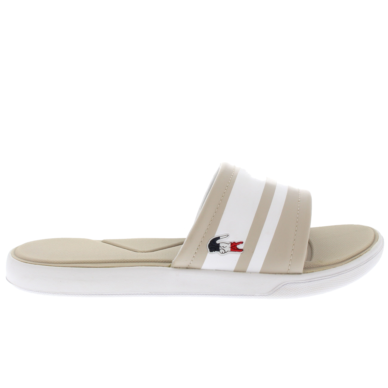 be8092d04 Details about Ladies Lacoste L.30 Slide 317 1 Sports Lightweight Sliders  Sandals All Sizes