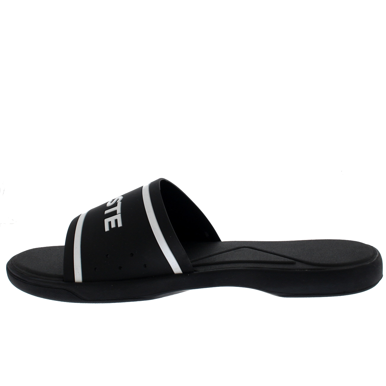 3a4748be62c46 Mens Lacoste L.30 118 2 Slides Casual Flat Beach Holiday Sport ...