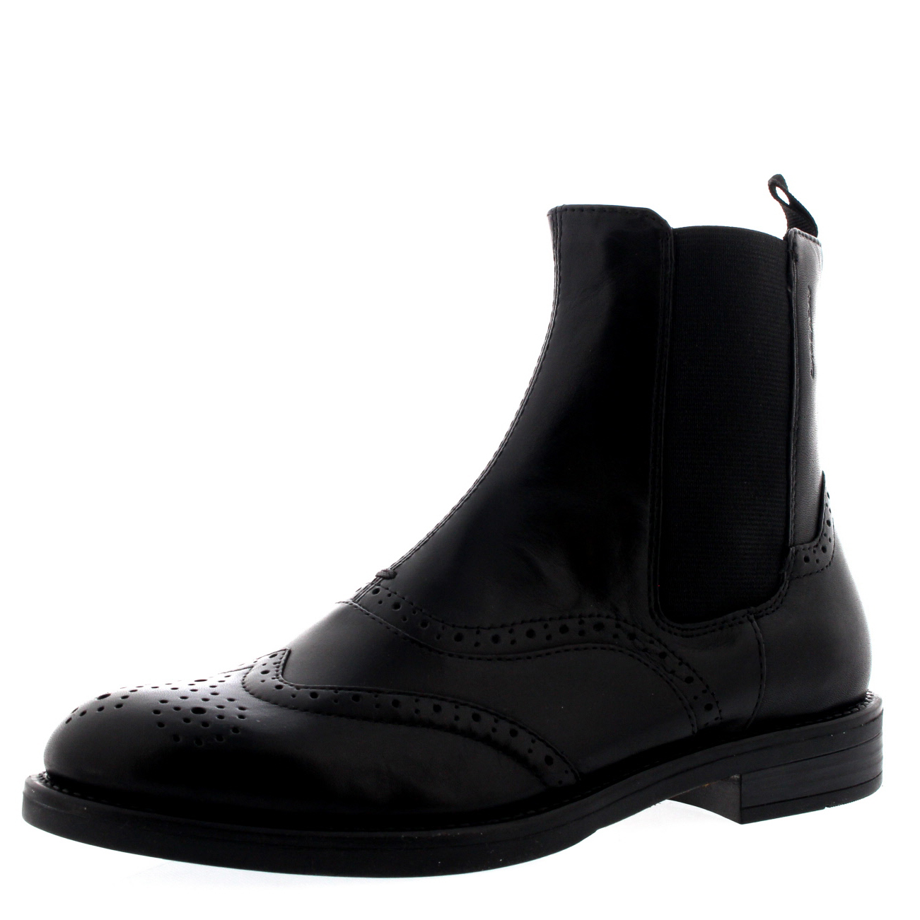 0ca955c5b23a3 Ladies Vagabond Amina Office Leather Brogue Smart Ankle Chelsea Boots All  Sizes