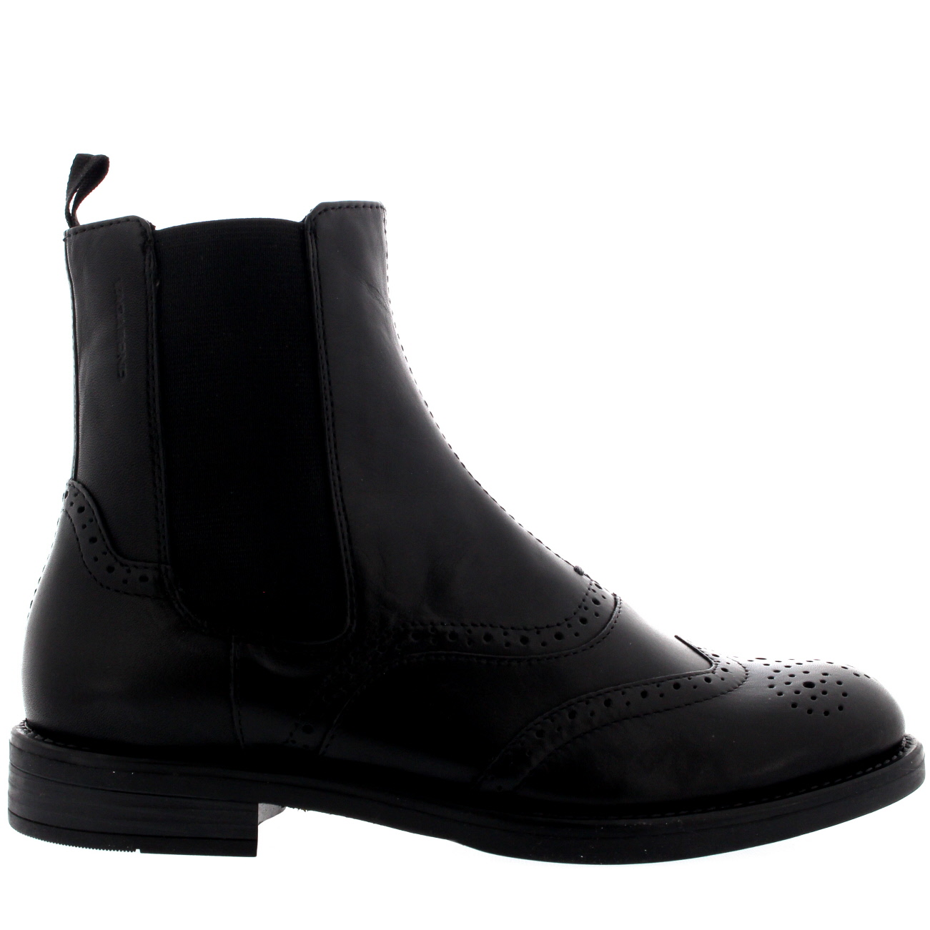 timeless design f3a29 a39e8 Details zu Ladies Vagabond Amina Office Leather Brogue Smart Ankle Chelsea  Boots All Sizes