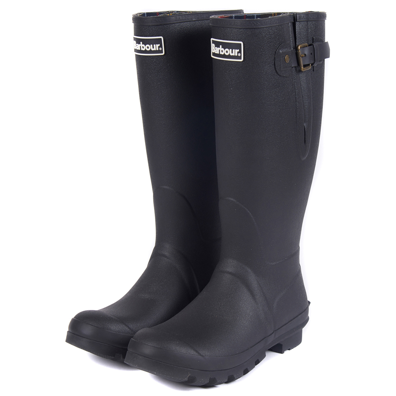 Mens-Barbour-Amble-Muck-Stable-Winter-Rain-Mud-Snow-Durable-Flat-Boots-All-Sizes miniatuur 14