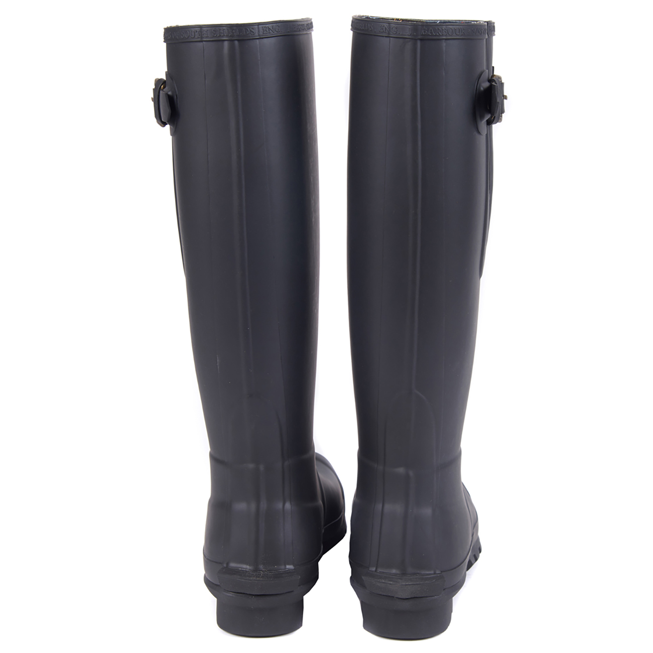 Mens-Barbour-Amble-Muck-Stable-Winter-Rain-Mud-Snow-Durable-Flat-Boots-All-Sizes miniatuur 15