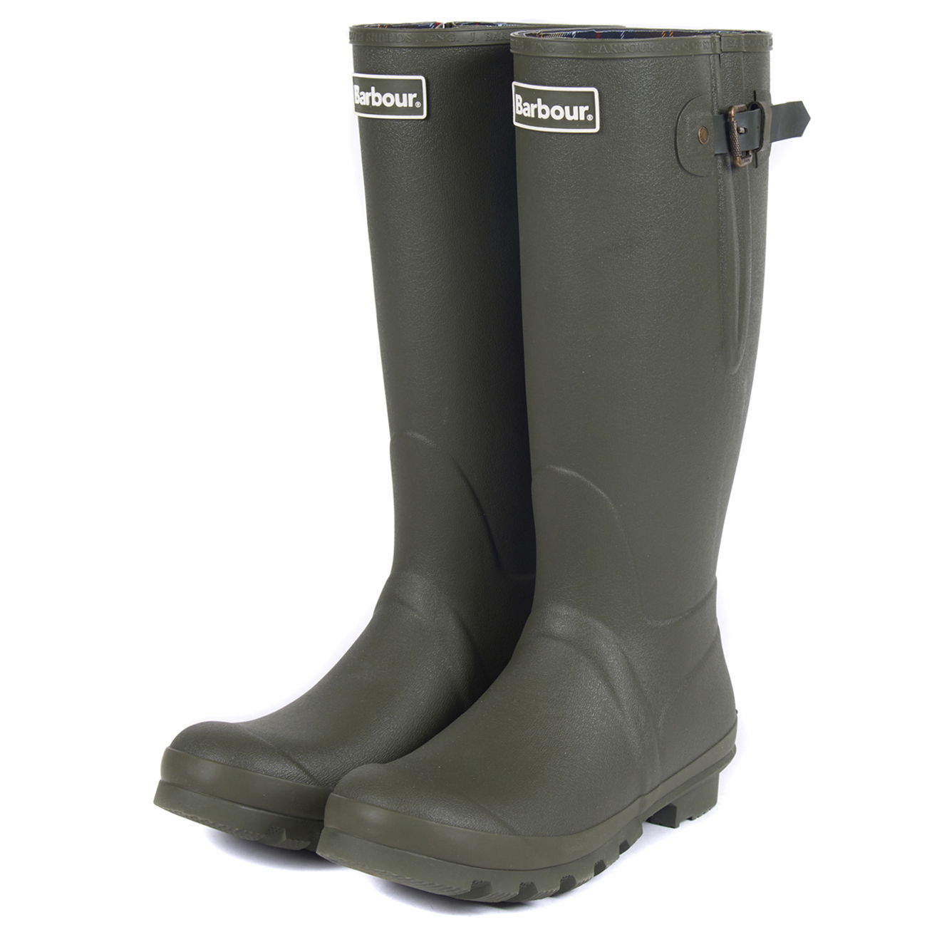 Mens-Barbour-Amble-Muck-Stable-Winter-Rain-Mud-Snow-Durable-Flat-Boots-All-Sizes miniatuur 22
