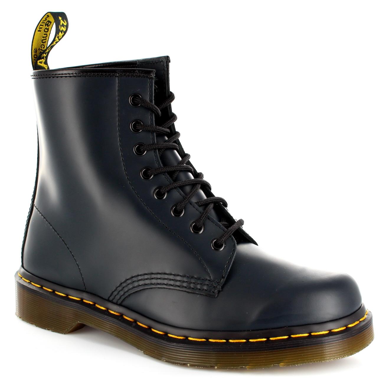 Damen Dr. Martens 1460Z 8 8 8 Eyelet Leder SchnŸren Kampf Armee Stiefel EU 36-42 01ee8a