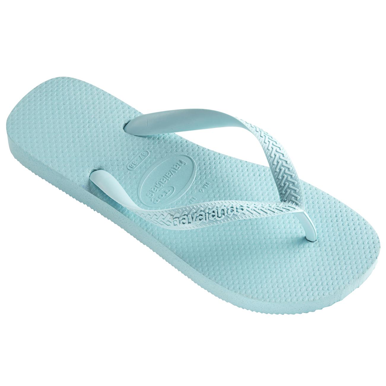 Havaianas Damen Top Gummi Leicht Strand Urlaub Lässig Sandale Flip-Flop - Pistazie - 41/42 aNGKDf