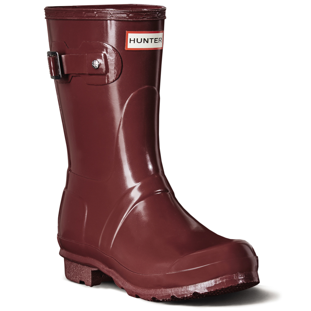 Damen Hunter Original Short Gloss Festival Schnee Regen EU Winter Stiefel EU Regen 36-43 ea6712