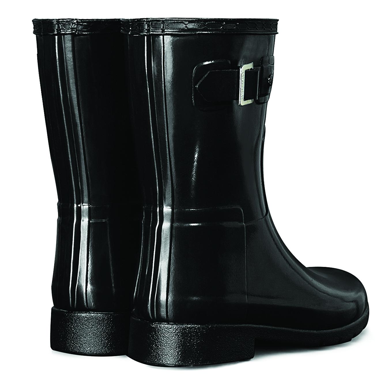Details about Damen Hunter Original Refined Chelsea Gloss Schnee Regen Gummistiefel EU 36 43