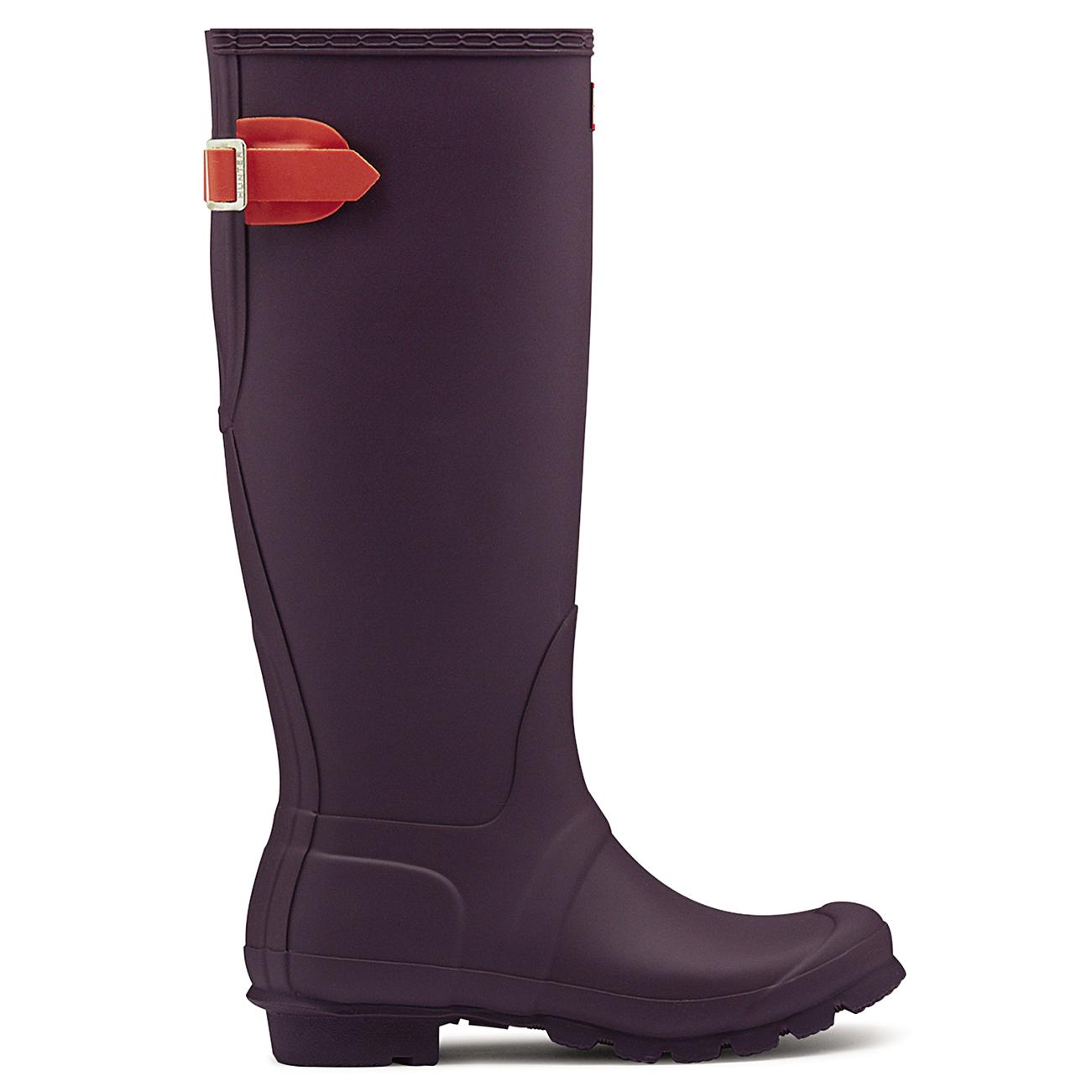 Damen Regen Hunter Adjustable Back Schnee Regen Damen Gummi Wasserdicht Stiefel EU 36-43 de1407