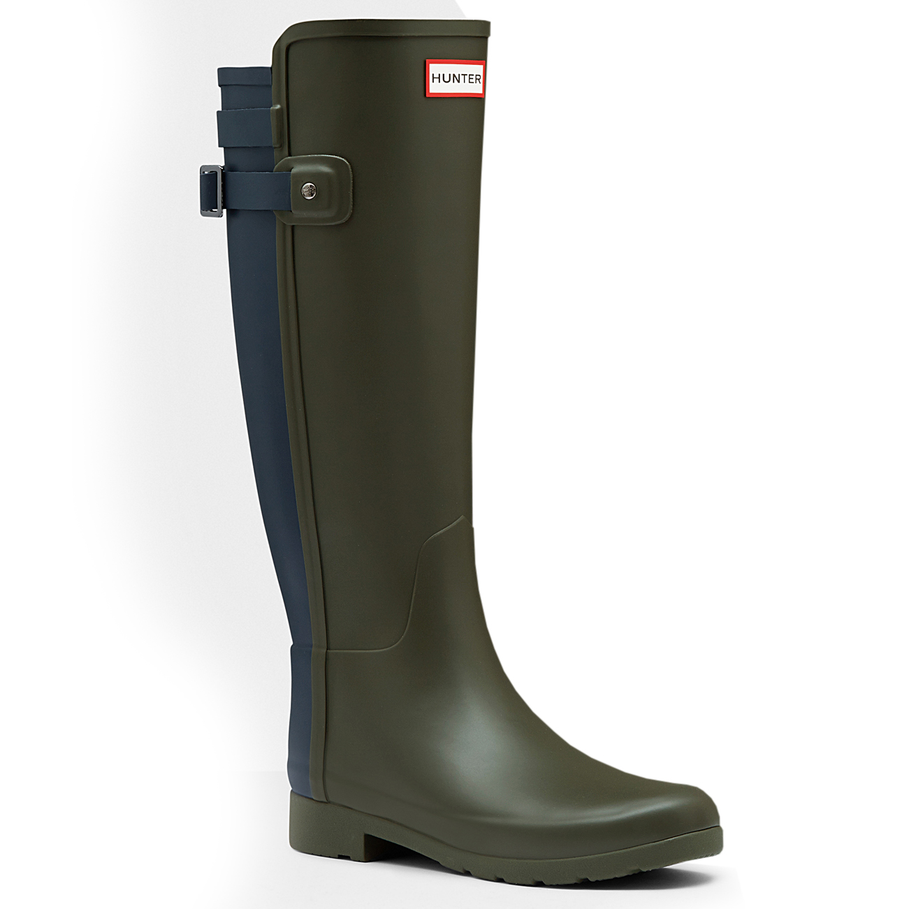 Damen Hunter Original Refined Winter Back Strap Schnee Winter Refined Gummistiefel EU 36-43 7f2725