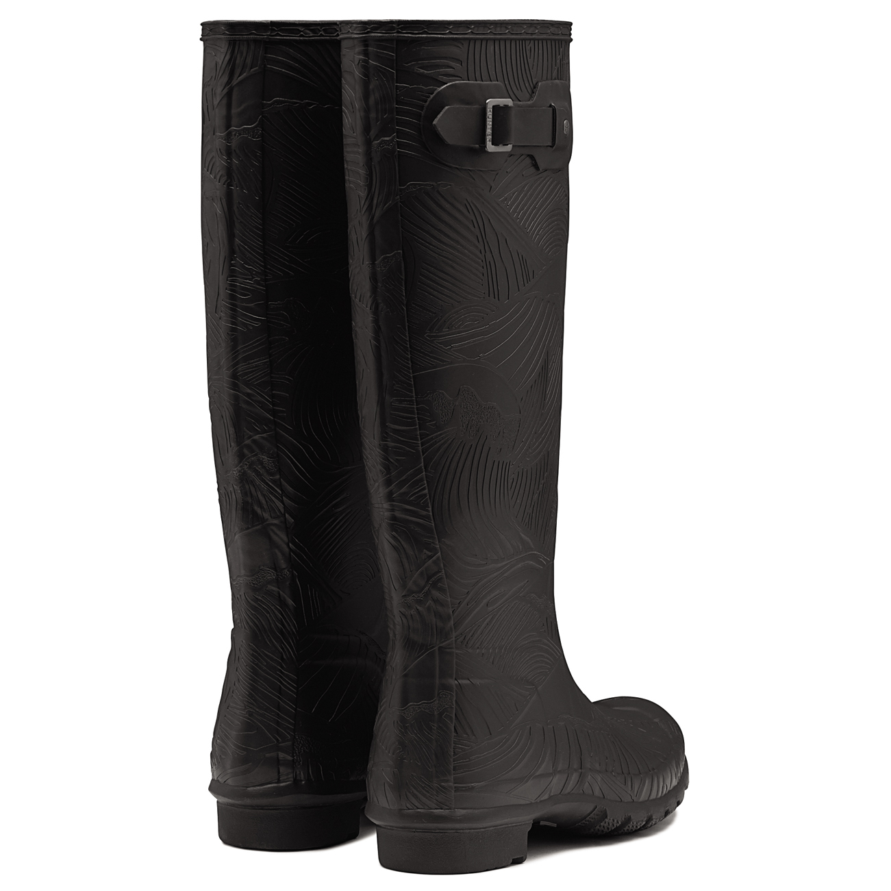 Damen Hunter Original Tall Schnee Wave TextuROT Gummistiefel Schnee Tall Stiefel EU 36-43 ae4bd5