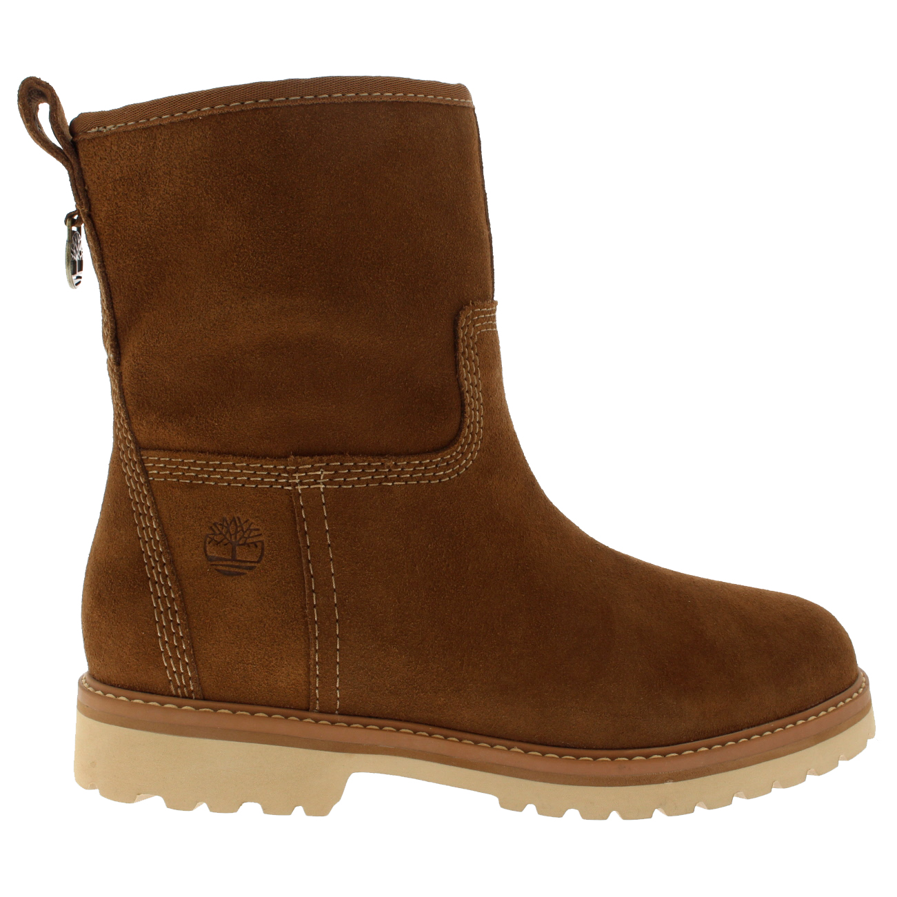 d367b5df790afc Damen-Timberland-Chamonix-Valley-Winter-Wasserdicht-Wildleder-Stiefel-
