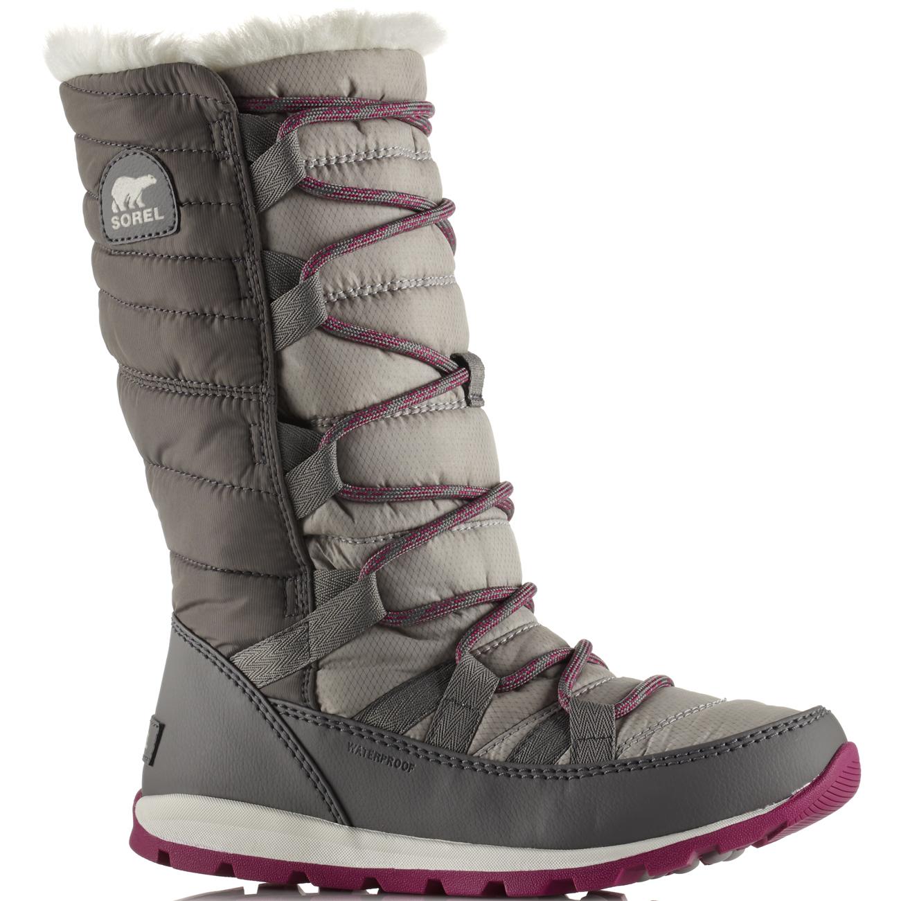 Damen Sorel Whitney Lace Thermal Vlies Wasserdicht Schnee Regen Siefel Siefel Regen EU 36-42 91b8ee