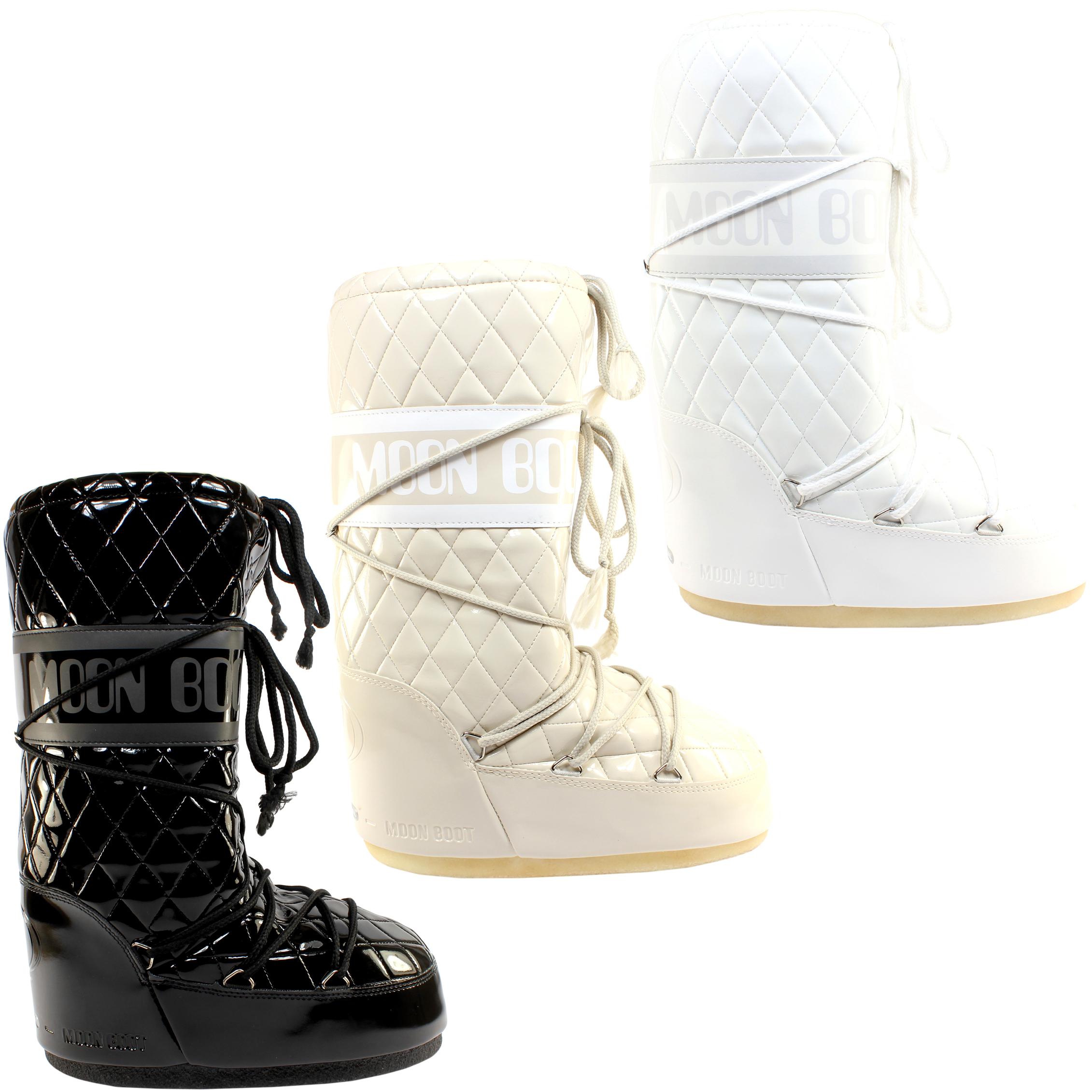 Scarpe da donna Tecnica Moon Boot Queen INVERNO sking Stivali 3 Colours 36-41 sizes