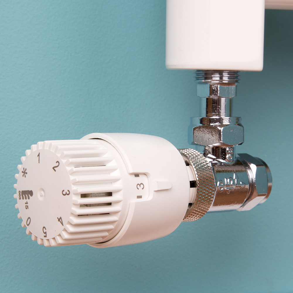 Drayton Thermostatic Radiator Valve Set - Central Heating 15mm ...