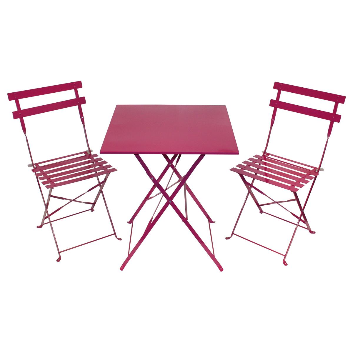 bentley garden gartenm bel set im bistro stil tisch 2 st hle metall. Black Bedroom Furniture Sets. Home Design Ideas