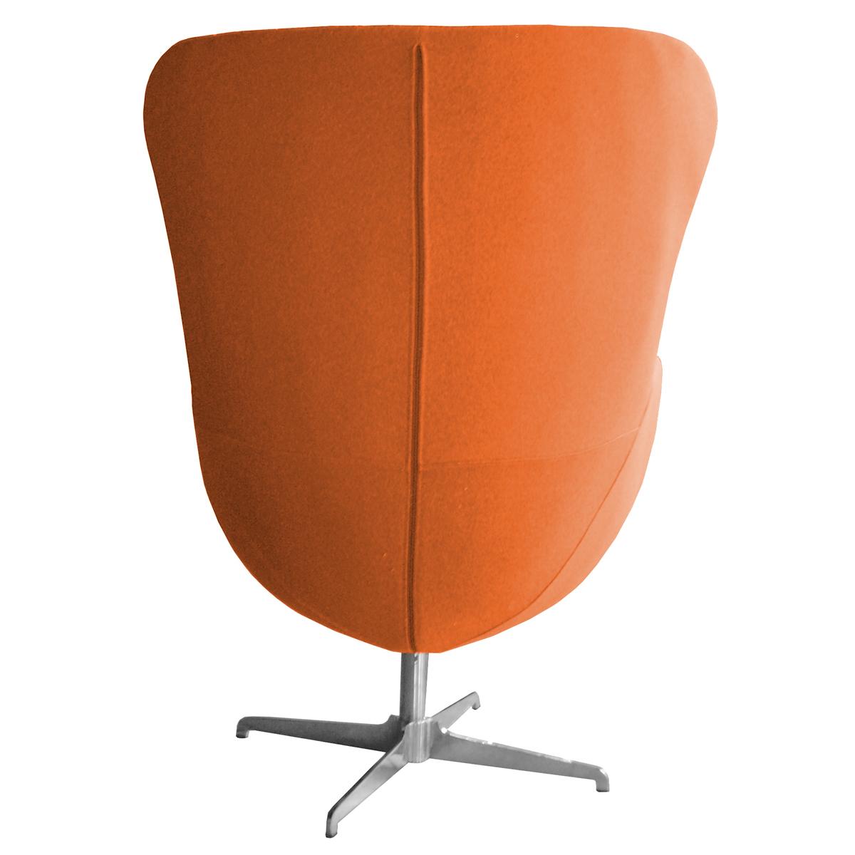 retro arne jacobsen inspired designer swivel wool egg chair various colours ebay. Black Bedroom Furniture Sets. Home Design Ideas