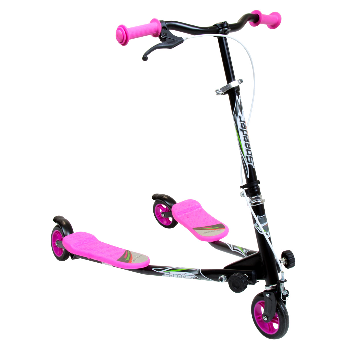 Charles Bentley Mini Speed Scooter Ski Motion Drifter 3 Wheel ...