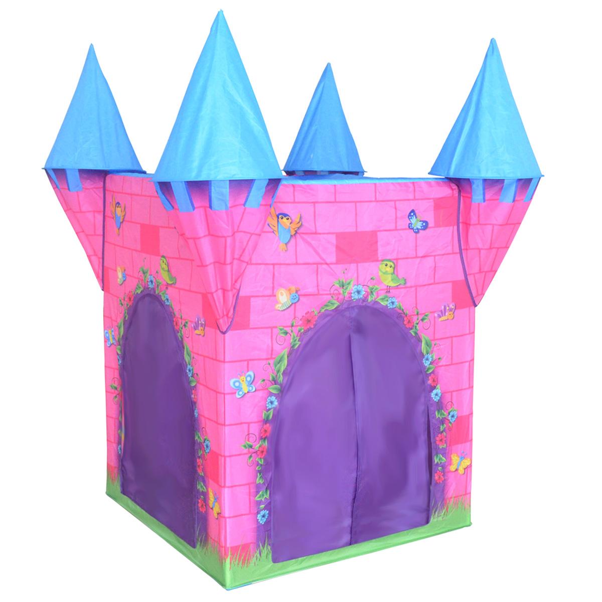 Charles-Bentley-Kid-039-s-Girls-Boys-Castle-  sc 1 st  eBay & Charles Bentley Kidu0027s Girls Boys Castle Play Tent Indoor Outdoor ...