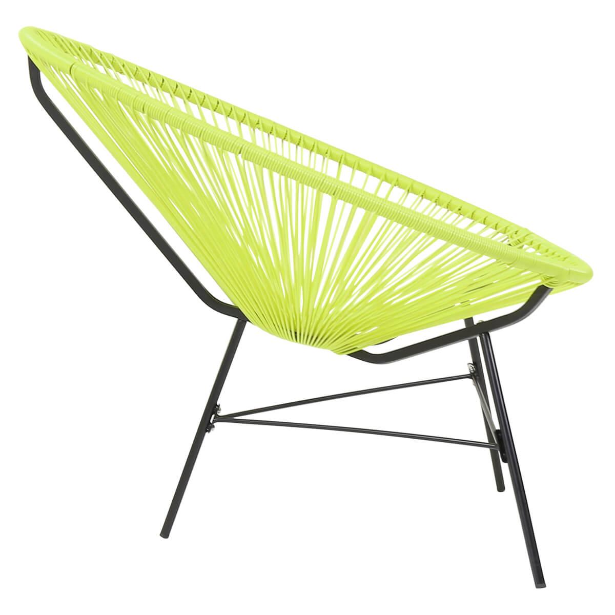 Charles Bentley Garden Furniture Retro Lounge Single Chairs 12 ...