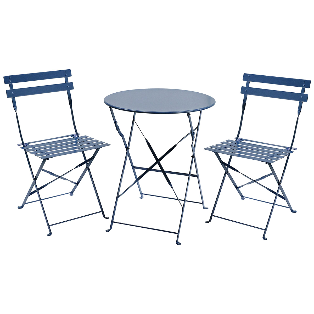 table 2 chairs. charles-bentley-3-piece-metal-bistro-set-garden- table 2 chairs