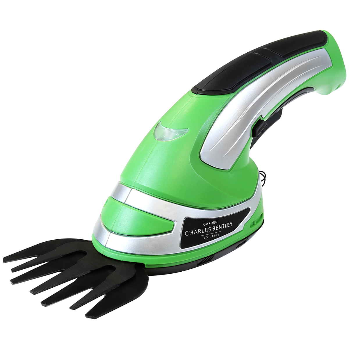 Charles bentley 3 6v cordless 2 in1 grass cutter hedge for Electric hand garden shears